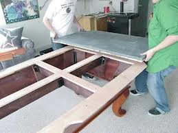 Pool table moves in Charlottesville Virginia