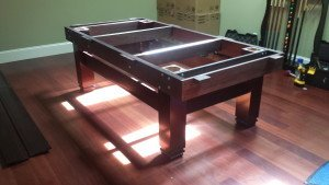 Correctly performing pool table installations, Charlottesville Virginia
